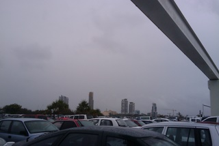 Rainy Day at Gold Coast