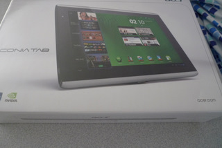 Acer Iconia A500 Box