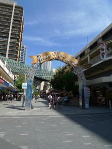 Christmas Queen Street Mall