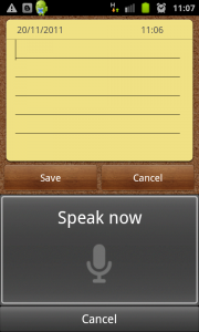 Android Voice Input