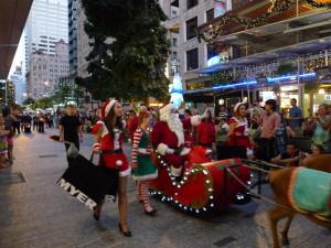 聖誕巡遊2012-聖誕老人