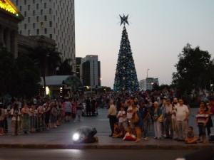 聖誕巡遊2012-圍觀