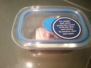 Decor600ml微波爐專用玻璃食物盒-$3.99
