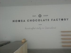 NOOSA Chocolate Factory