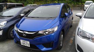 Honda Fit-沖繩租來的車