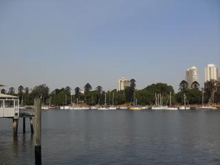 天朗氣清的Kangaroo Point