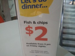 IKEA $2 Fish & Chip