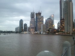 水災之後的Brisbane Riverside Walk