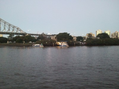 Kangaroo Point Ferry Dock