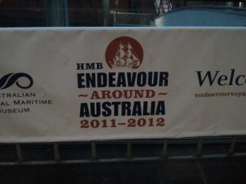 HMS Endeavour Around Australia