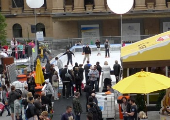 Brisbane Winter Festival 溜冰