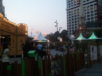 Beer Garden @ King George Square