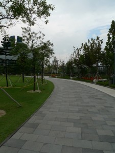 中山記念公園石階
