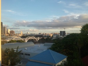 View from Double Room - Brisbane YHA