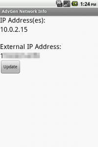 Adv Network Info-IP地址偵測器