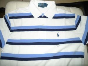 條紋Polo Shirt