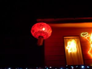 中式聖誕燈飾