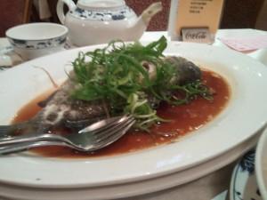 蒸鱸魚-廣州樓