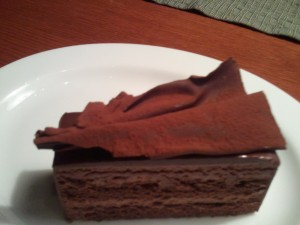 朱古力蛋糕