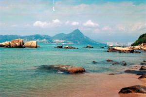 赤鱲角沙灘