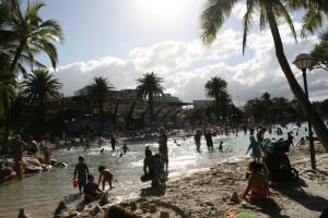 人造沙灘@Southbank