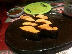 板長-海膽壽司