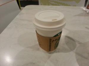 starbucks - short cappuccino