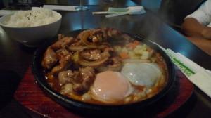 鐵板雞飯@禾田茶坊