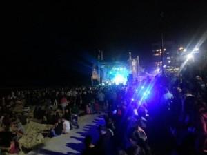 音樂會@Surfers paradise festival.