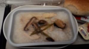 國泰飛機早餐