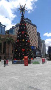 Christmas Tree @King George Square
